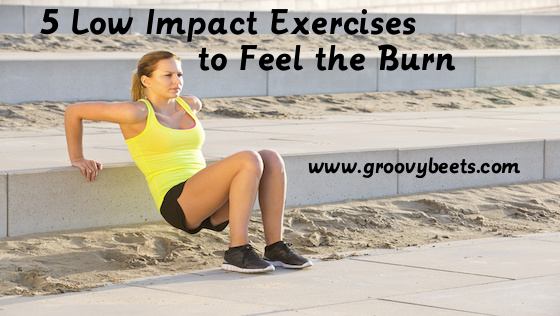 5 Low Impact Exercises to Feel the Burn