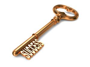 Success - Golden Key.