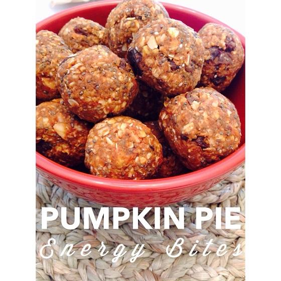 Pumpkin Pie Energy Bites Recipe