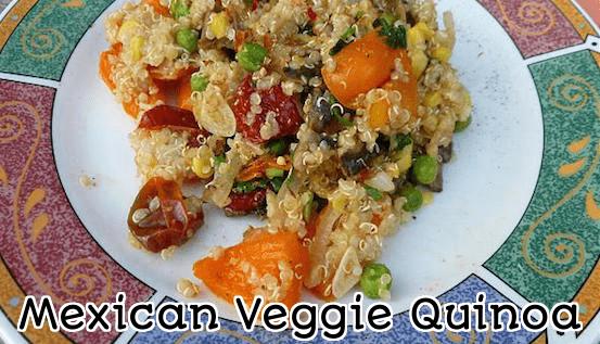 Healthy Mexican Veggie Quinoa Recipe