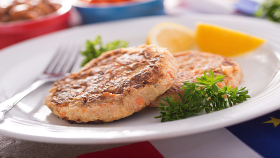 Gluten-Free Salmon Cakes Recipe