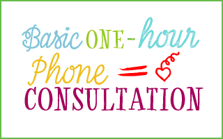 1 hour phone consultation health coaching