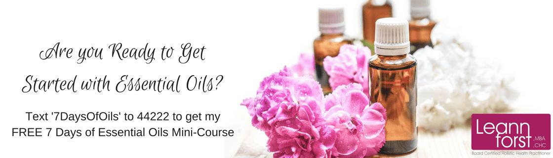 7 Days of Essential Oils