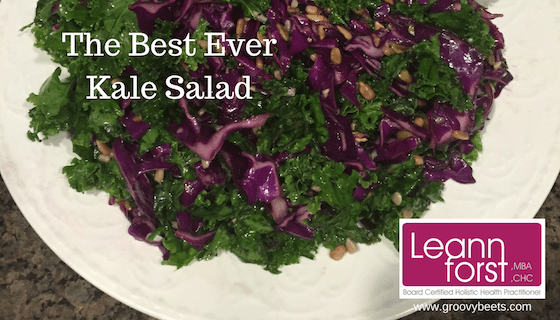 The Best Ever Kale Salad Recipe