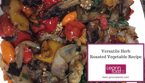 Versatile Herb Roasted Vegetable Recipe