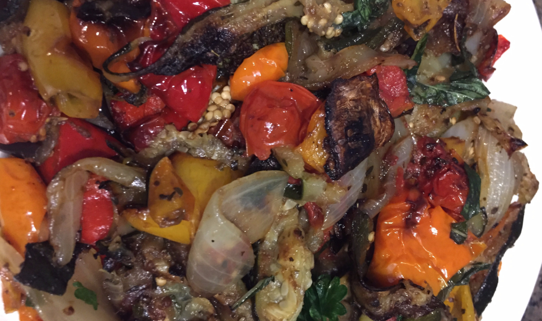 Versatile Herb Roasted Vegetable Recipe