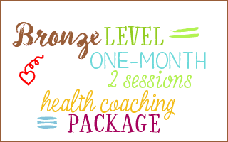 bronze level health coaching package Leann Forst