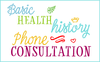 basic health history phone consultation image