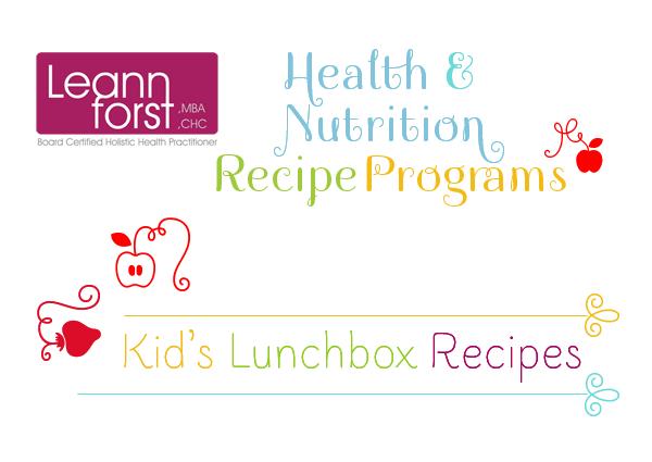 Kids Lunchbox Recipe Program