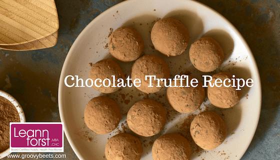 Laura Hamby's Chocolate Truffle Recipe