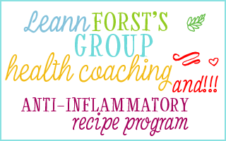 Leann Forst's Group Health Coaching and anti-inflammatory recipe program