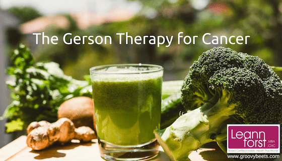 The Gerson Therapy for Cancer