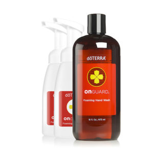 doTERRA On Guard Foaming Hand Wash | GroovyBeets.com