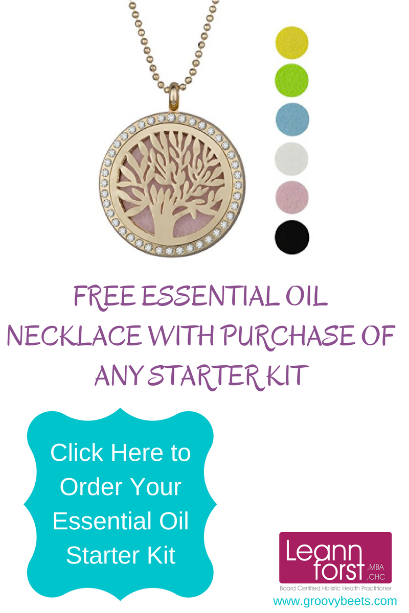 Essential-Oil-Necklace | GroovyBeets.com