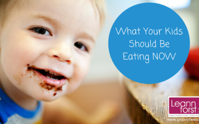 What Your Kids Should Be Eating NOW