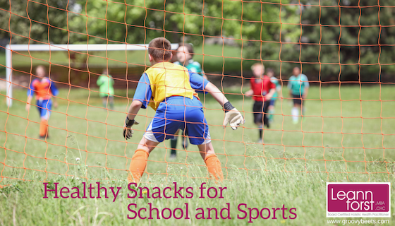 Healthy Snacks for School and Sports