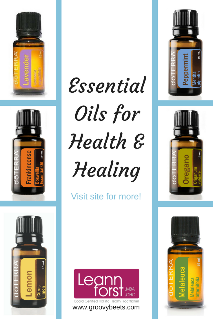 Essential Oils for Health & Healing | GroovyBeets.com