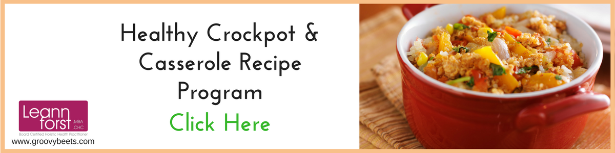 Crockpot/Casserole Recipe Program | GroovyBeets.com
