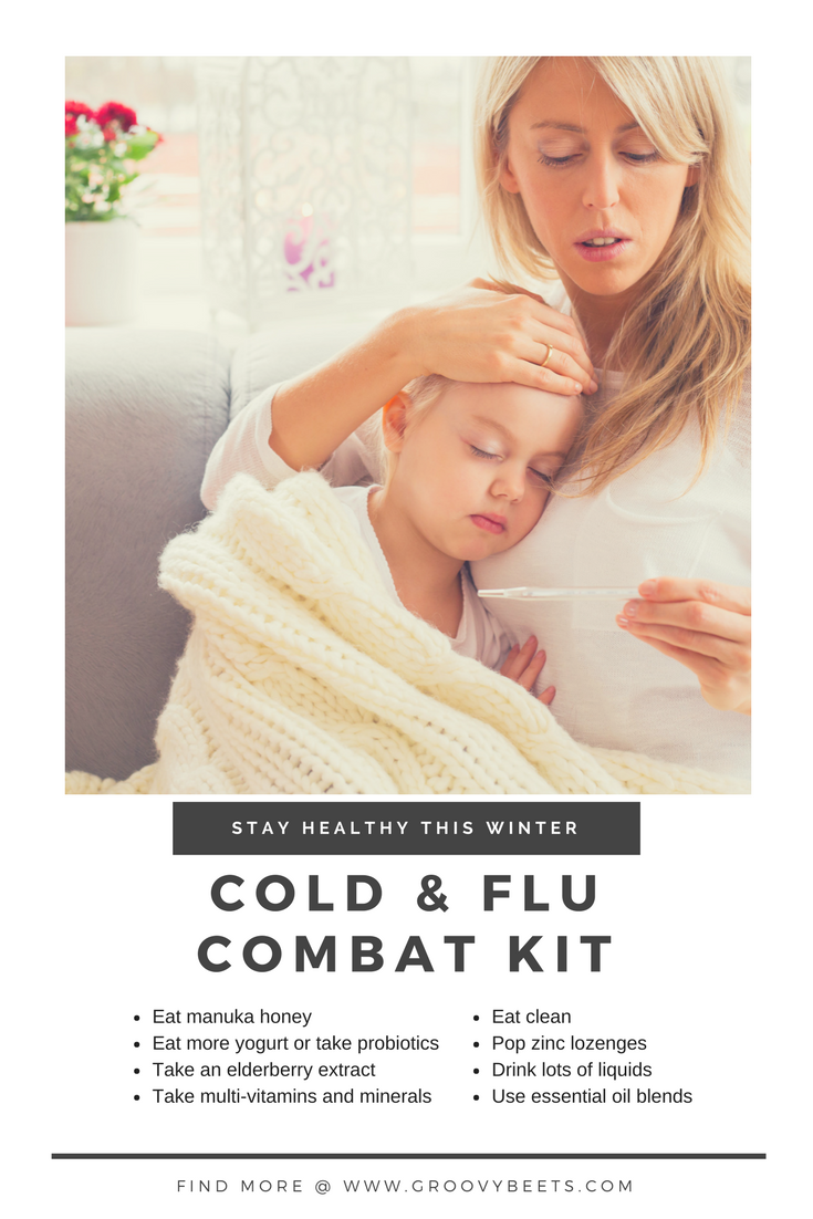Cold and Flu Combat Kit | GroovyBeets.com