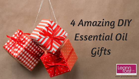 DIY Essential Oil Gifts | GroovyBeets.com