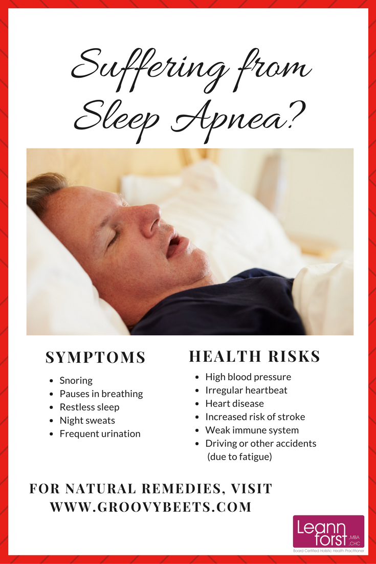 Natural Remedies for Sleep Apnea | GroovyBeets.com