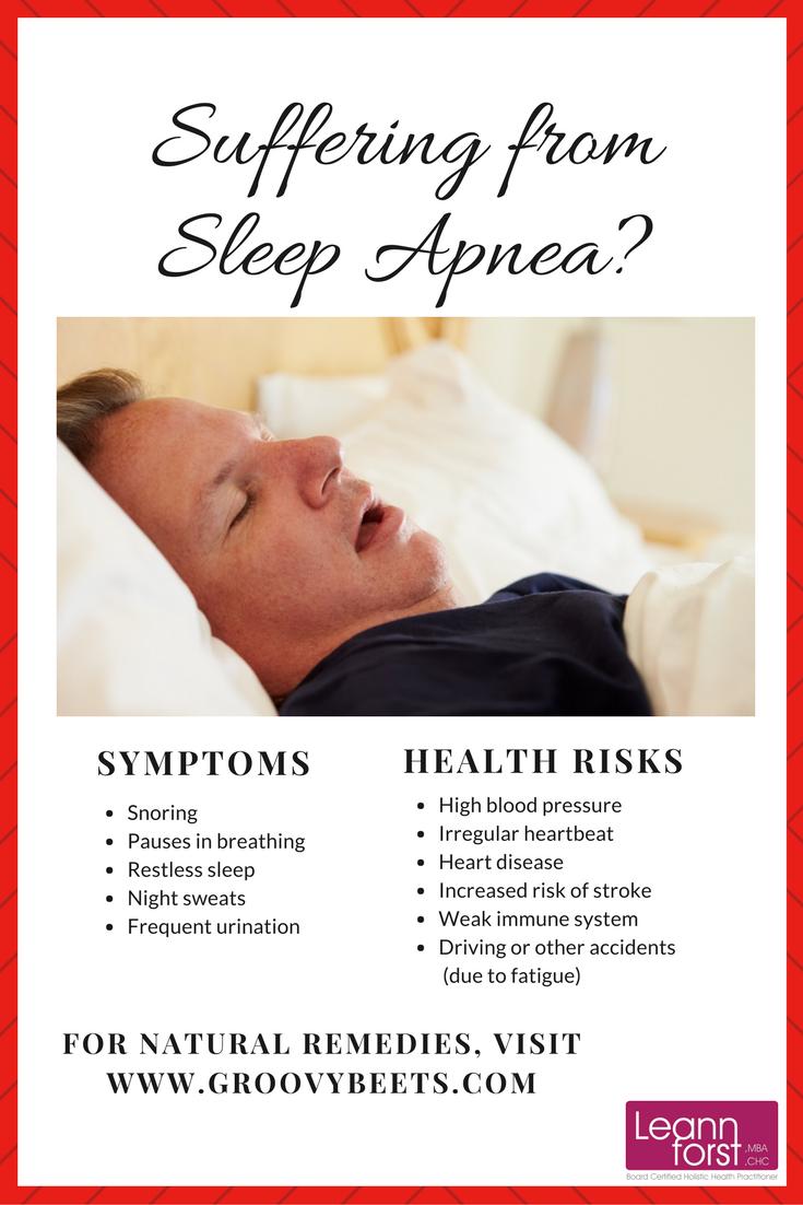 Natural Remedies for Sleep Apnea   GroovyBeets.com