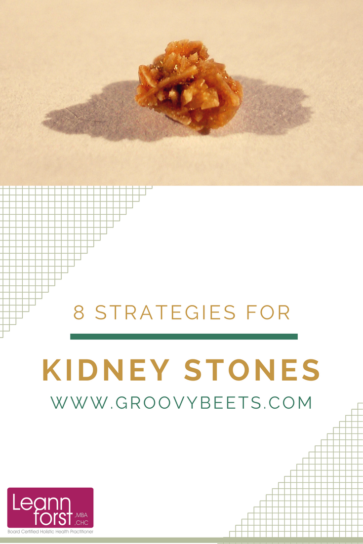 8 Strategies for Kidney Stones | GroovyBeets.com