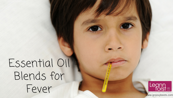 Essential Oil Blends for Fever | GroovyBeets.com