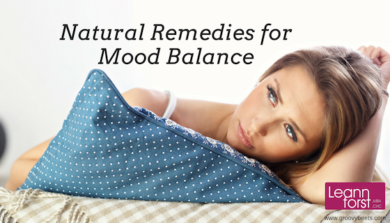 Natural Remedies for Mood Balance | GroovyBeets.com