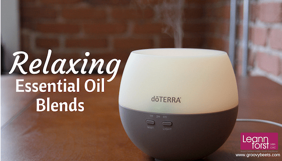 Relaxing Essential Oil Blends | GroovyBeets.com