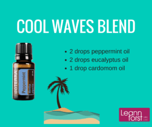 Cool Waves Essential Oil Blend | GroovyBeets.com