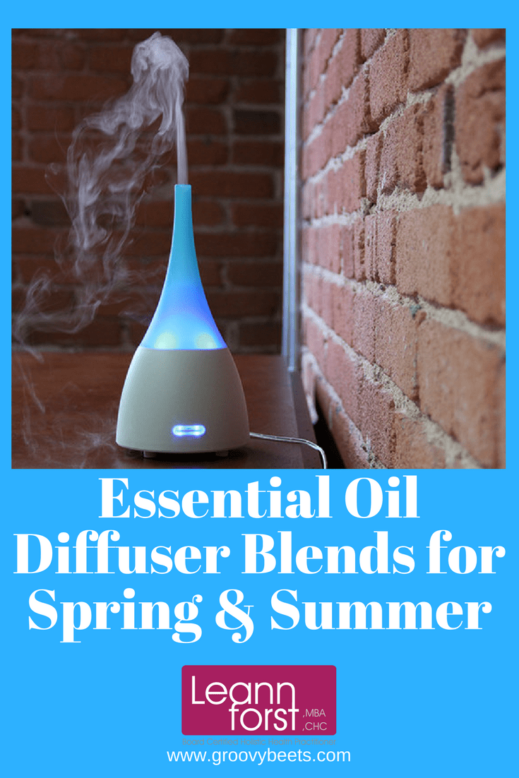 Essential Oil Diffuser Blends for Spring & Summer | GroovyBeets.com