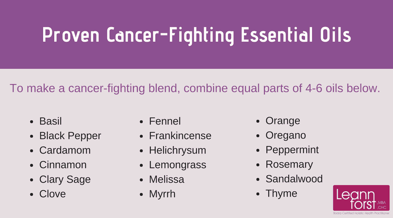 Proven Cancer-Fighting Essential Oils | GroovyBeets.com