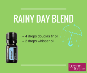 Rainy Day Essential Oil Blend | GroovyBeets.com