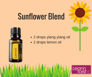 Sunflower Essential Oil Blend | GroovyBeets.com