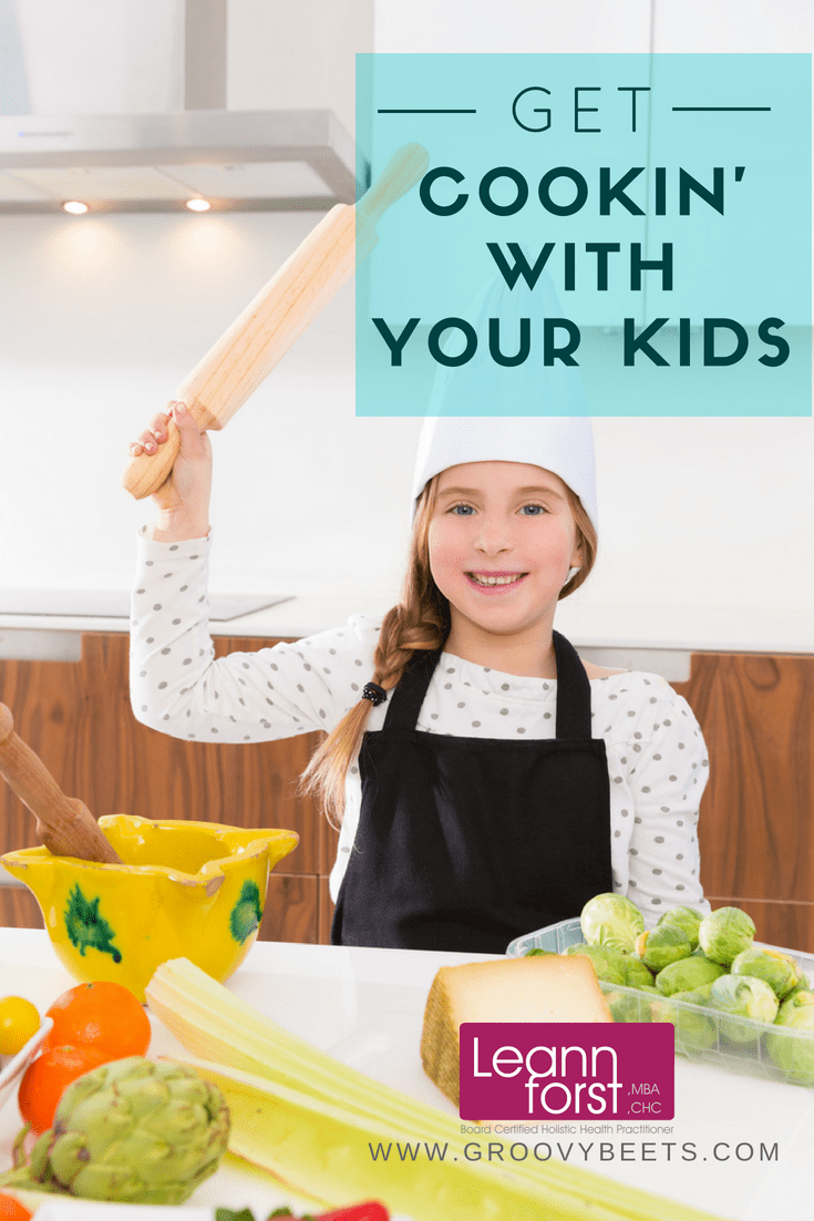 Cooking With Your Kids | GroovyBeets.com