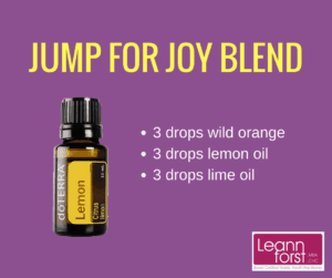 Jump for Joy Diffuser Blend | GroovyBeets.com