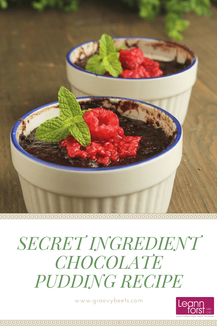 Secret Ingredient Chocolate Pudding Recipe | GroovyBeets.com