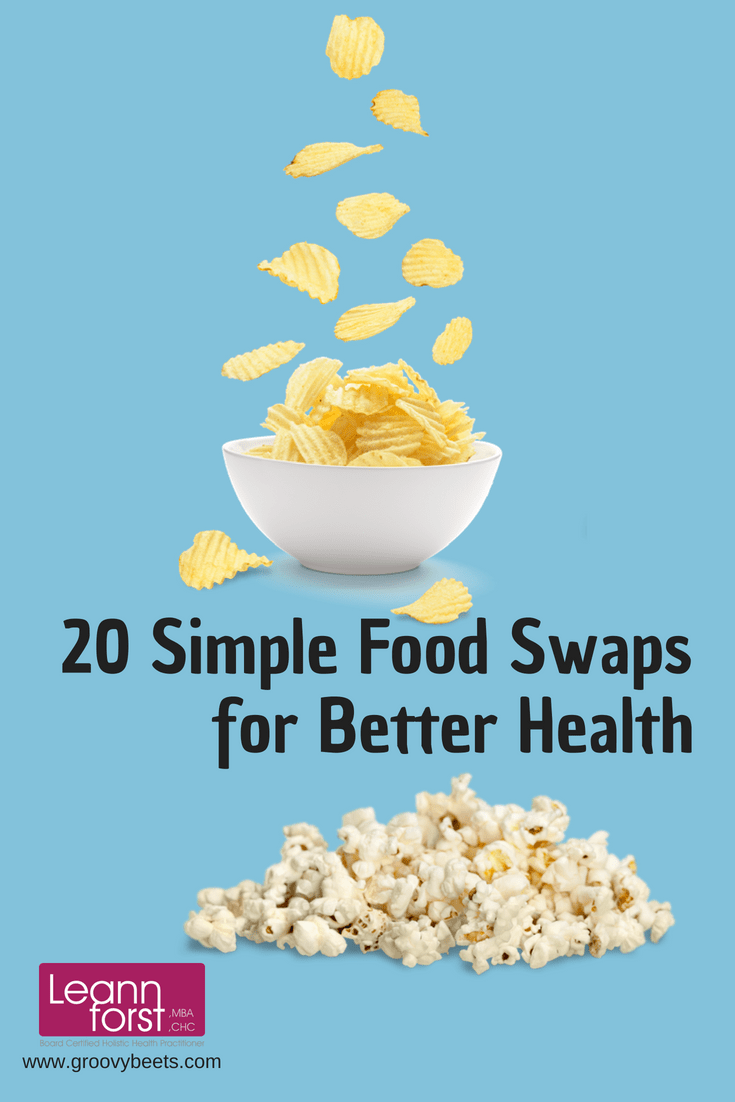 Food Swaps for Better Health | GroovyBeets.com