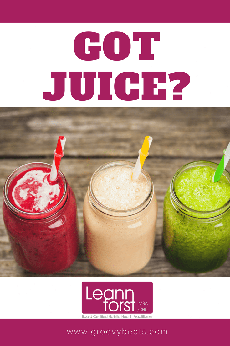 Benefits of Juicing | GroovyBeets.com
