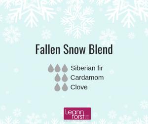 Winter Diffuser Blends   LeannForst.com