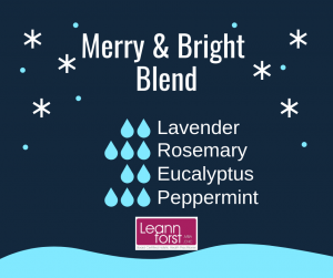 Winter Diffuser Blends | LeannForst.com