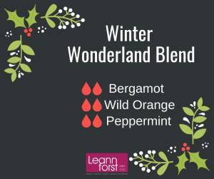 Winter Diffuser Blends | LeannForst.com
