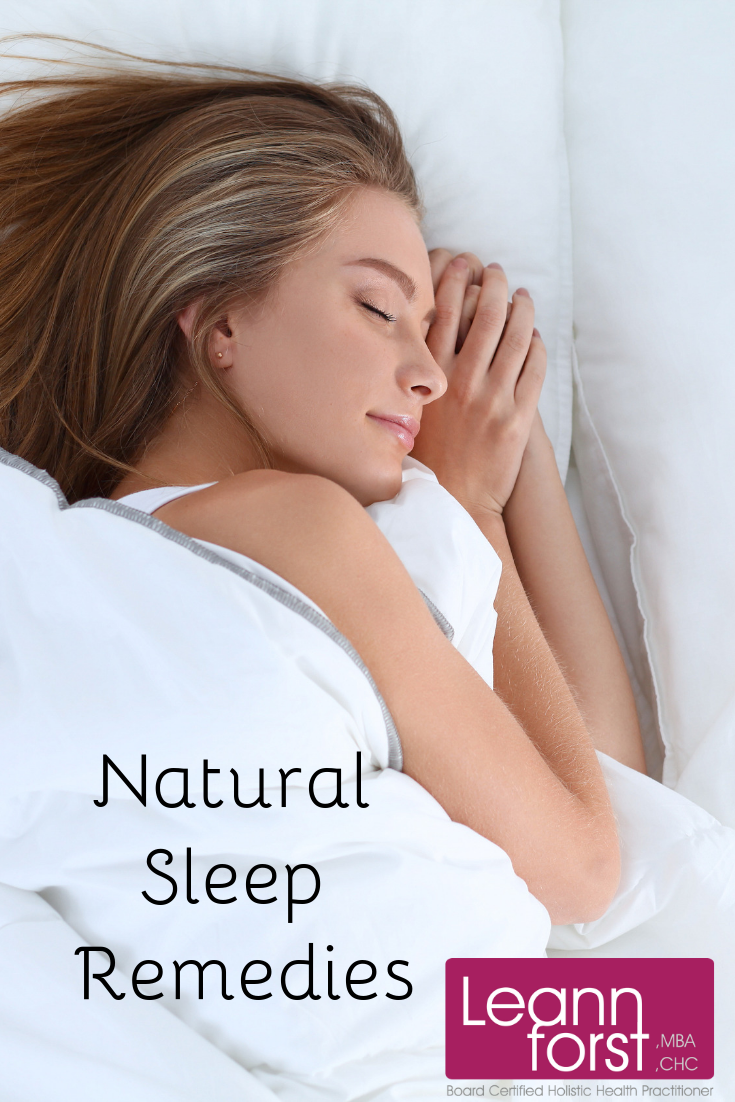 Natural Sleep Remedies | LeannForst.com