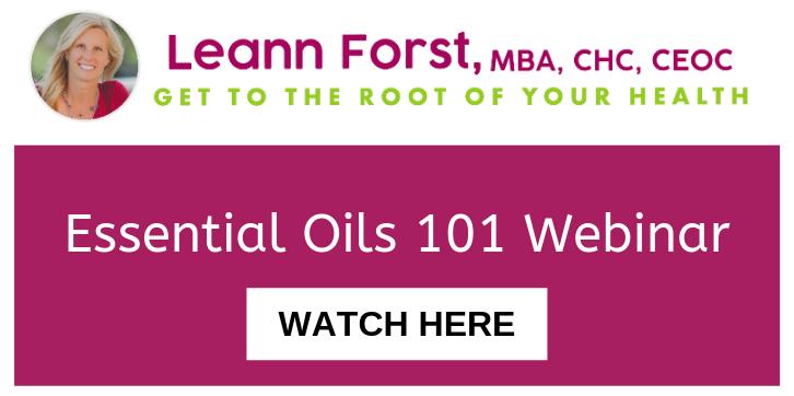 Essential Oil 101 Webinar | LeannForst.com