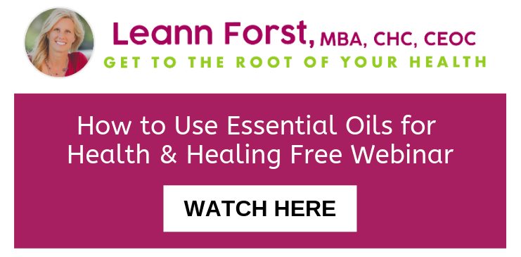 How to Use Essential Oils for Health & Healing Free Webinar | LeannForst.com