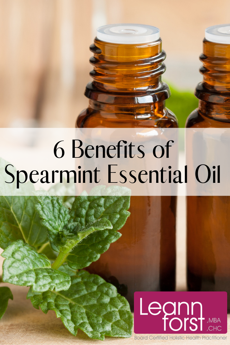 Spearmint Essential Oil | LeannForst.com