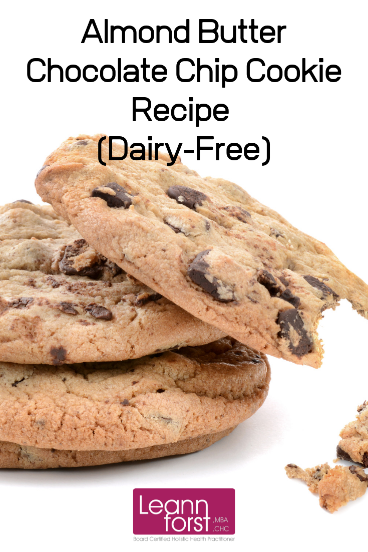 Dairy-Free Chocolate Chip Cookie Recipe | LeannForst.com