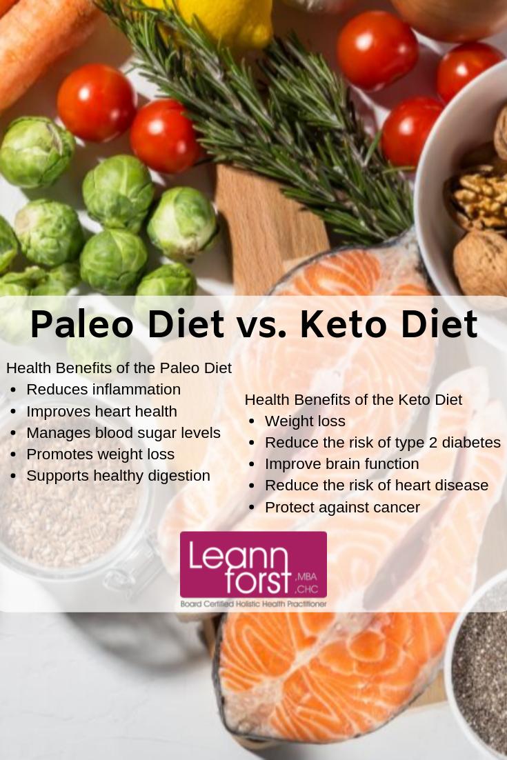 Paleo Diet vs. Keto Diet | LeannForst.com