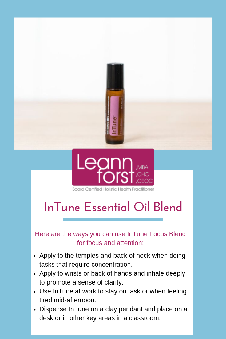 InTune Essential Oil Blend | LeannForst.com